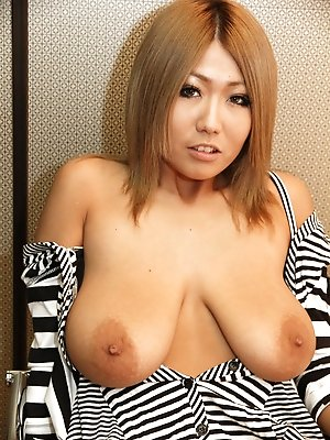 aimi,boobs,hairy,japanese,milf,posing,pretty,redhead,solo,stripping,
