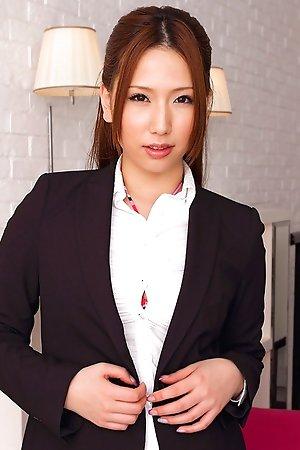 ai sayama,business,chubby,idols,japanese,milf,nonnude,office,solo,swimsuit,