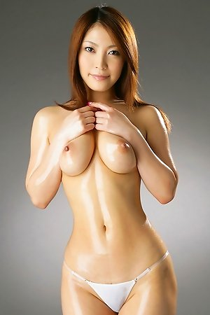 big ass, boobs, chubby, hairy, idols, japanese, nude, oiled, panties, sakura kokomi, solo,