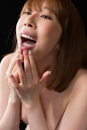 aya kisaki,cums,facials,japanese,redhead,spermeat,
